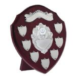 "09"" Annual Shield Trophy TRS9"